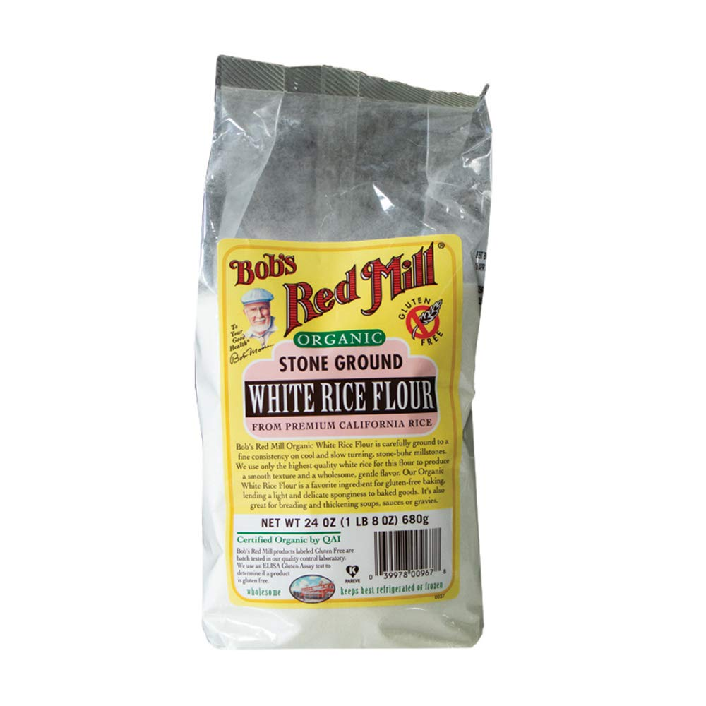 Bob's Red Mill Organic White Rice Flour, 24 Ounce by Bob's Red Mill