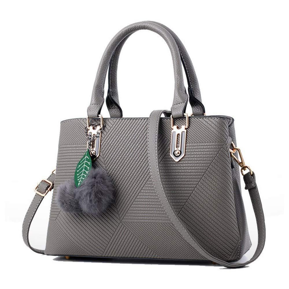XUZISHAN Damen Tasche Tasche Tasche Leder Handtasche Modische Weiblichen Tasche Messenger Bag Fashion B07Q2QC2LR Damenhandtaschen König der Menge 75594c
