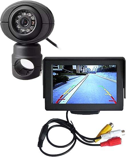 120º Mini Color CCD Reverse Backup Cars Front Rear View Camera Night Vision 12V