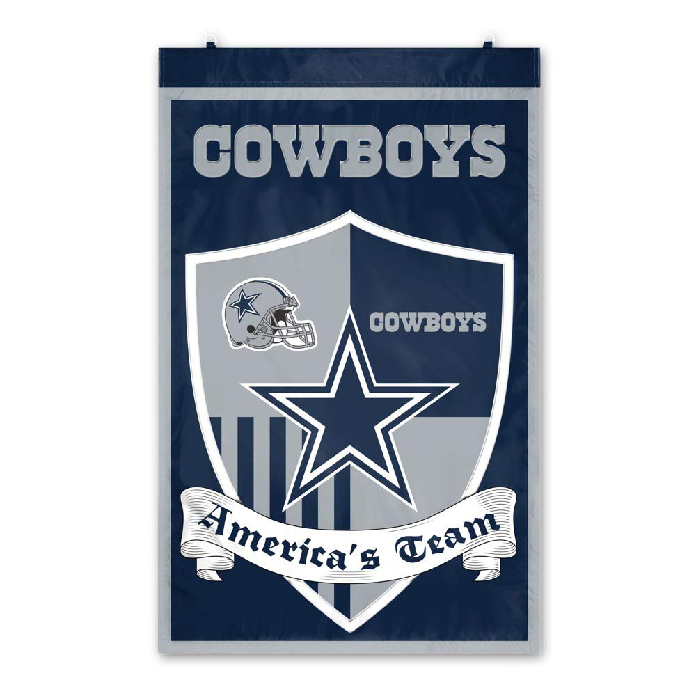 Party Animal Dallas Cowboys Shield Banner by Party Animal