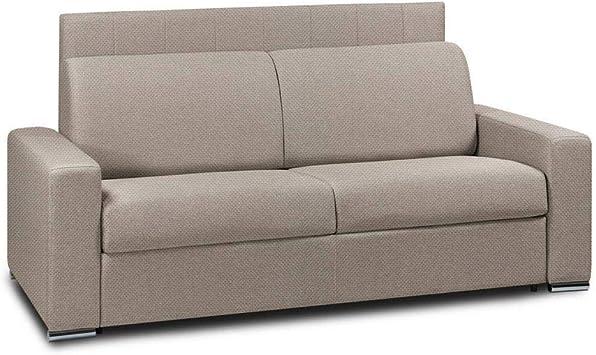 Sofá Cama 4 plazas Apertura Rapido láminas de 160 cm colchón 22 Cm ...