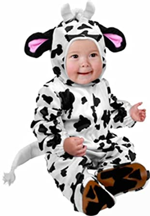infant cow farm animal baby halloween costume 6 12 months