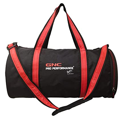 d52b1da9556d GNC Gym Bag (Black)  Amazon.in  Health   Personal Care