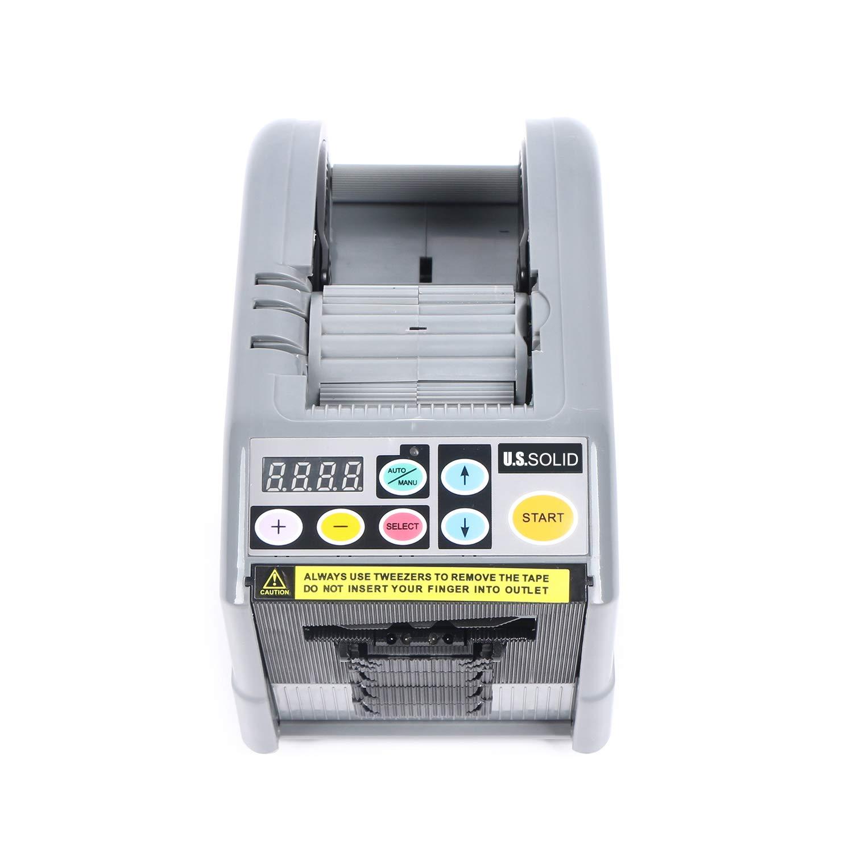 U.S. Solid Automatic Tape Dispenser Auto Tape Cutting Machine JF-3000, Tape Width 6-60mm by U.S. Solid