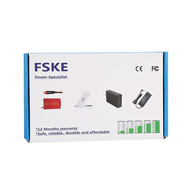 FSKE® 33W 19V 1.75A Cargador de Laptop para ASUS Zenbook X553M F553M X540S AC Adaptador,X540 UX305 Notebook EUR Power Supply,4.0 * 1.35mm