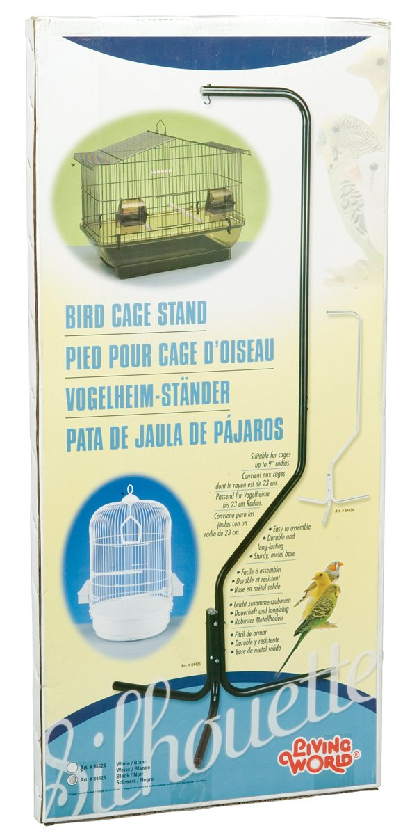 Living World Silhouette Half Loop Black Stand, 63-Inch tall 84425