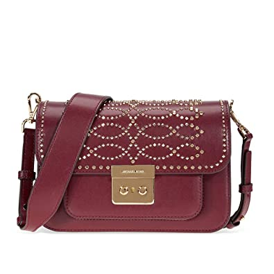 e11047dfb0ca Michael Kors Sloan Editor Large Leather Shoulder Bag: Handbags: Amazon.com