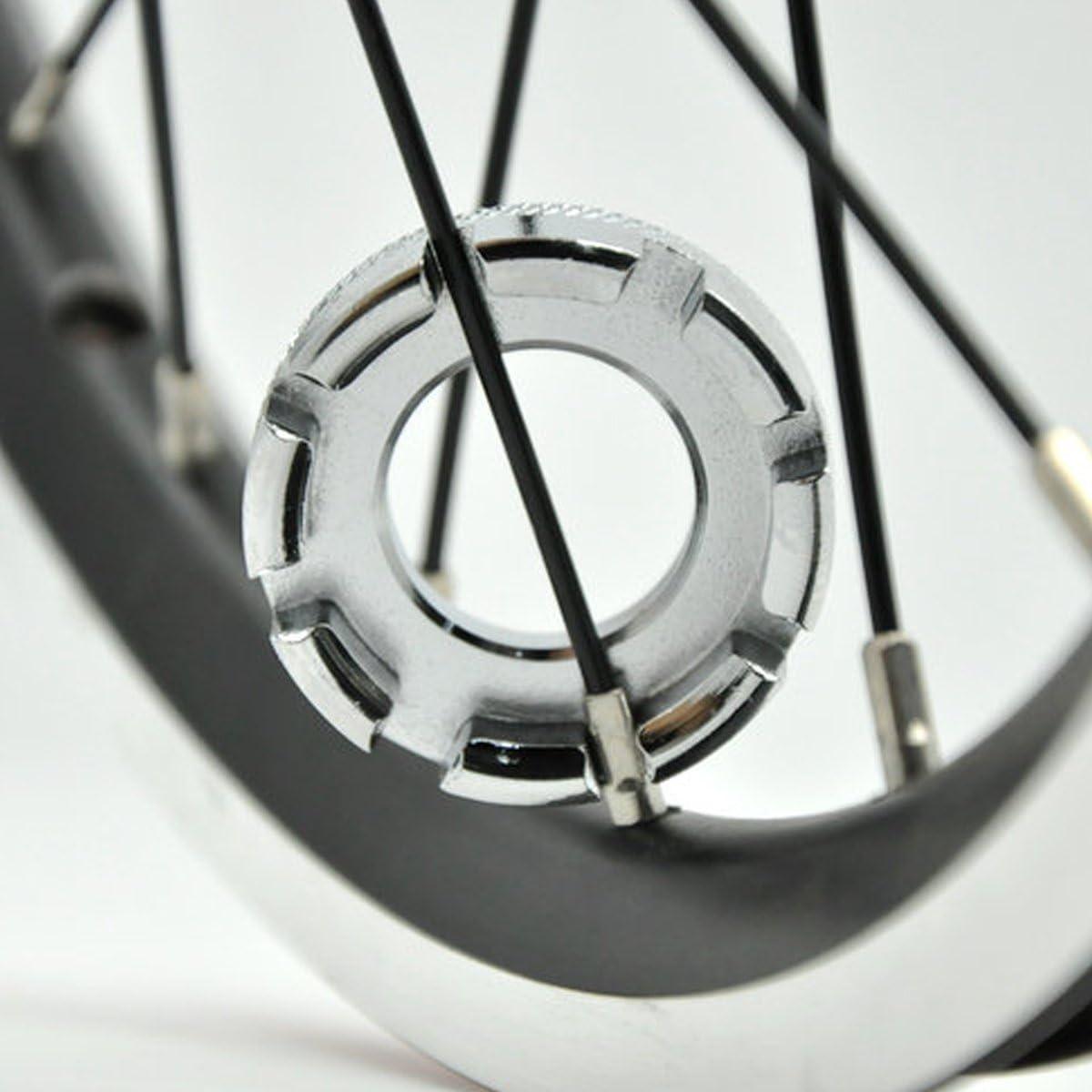 Fahrrad Speichen Nippelspanner Spanner Werkzeug Zubehör for Tief Felgen Nützlich