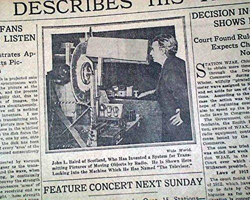 amazon com early television tv john logie baird televisor invention
