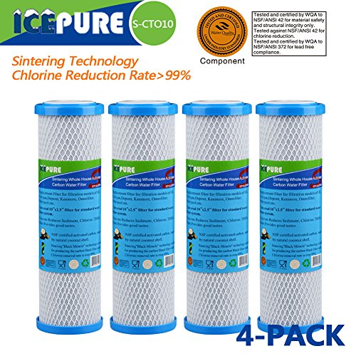 Whole House Sintering Activated Carbon Water Filter 10