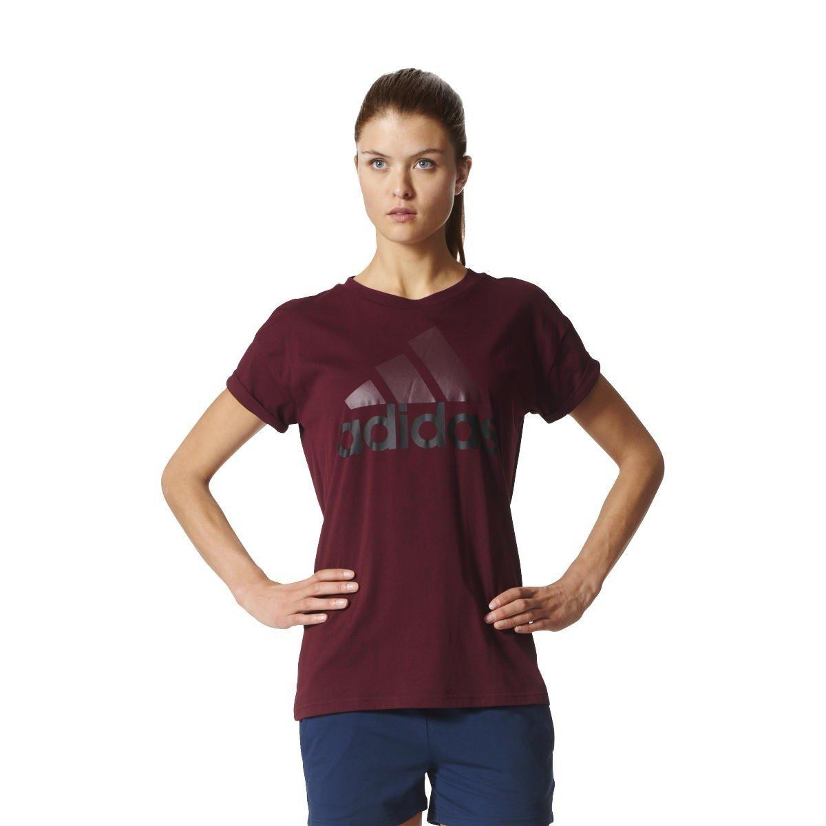 adidas Women's Essentials Linear Logo T-Shirt CF8828