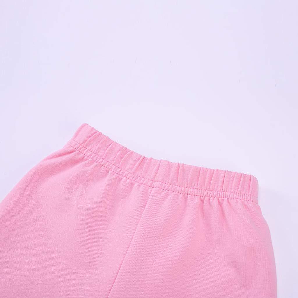 Gallity Newborn Infant Baby Boys Long Sleeve 3D Cartoon Raccoon Romper Bodysuit Pants Outfit Autumn Winter Clothes Set 0-6 Months, Pink