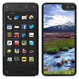 LECELL--Funda protectora / Cubierta / Piel For Amazon Fire Phone -- Naturaleza Hermosa Forrest Verde 63 --