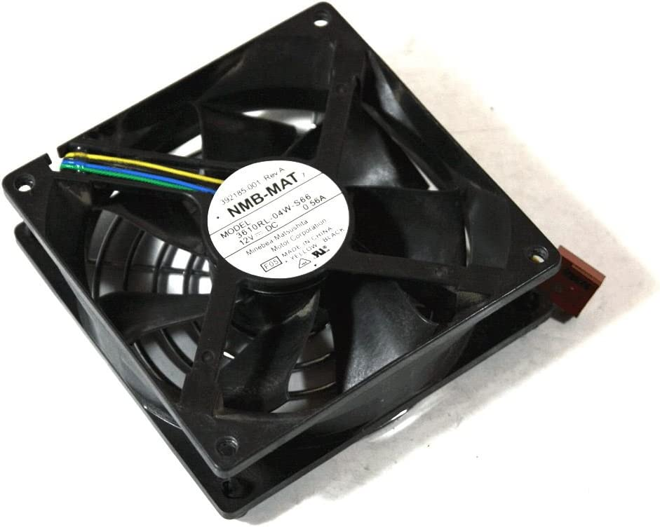 HP Genuine 3610RL-04W-S66 Computer Cooling Case Fan Desktop 12V DC 0.56A 392185-001