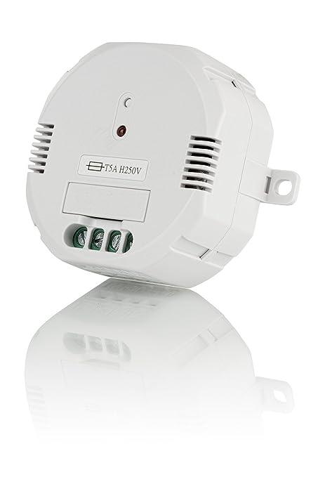 Trust Smart Home 71015 Trust ACM-1000-Interruptor Integrado inalámbrico, Color Blanco