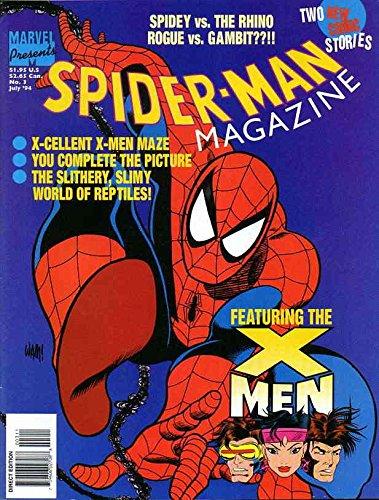 Spider-Man Magazine #3 FN ; Marvel comic book