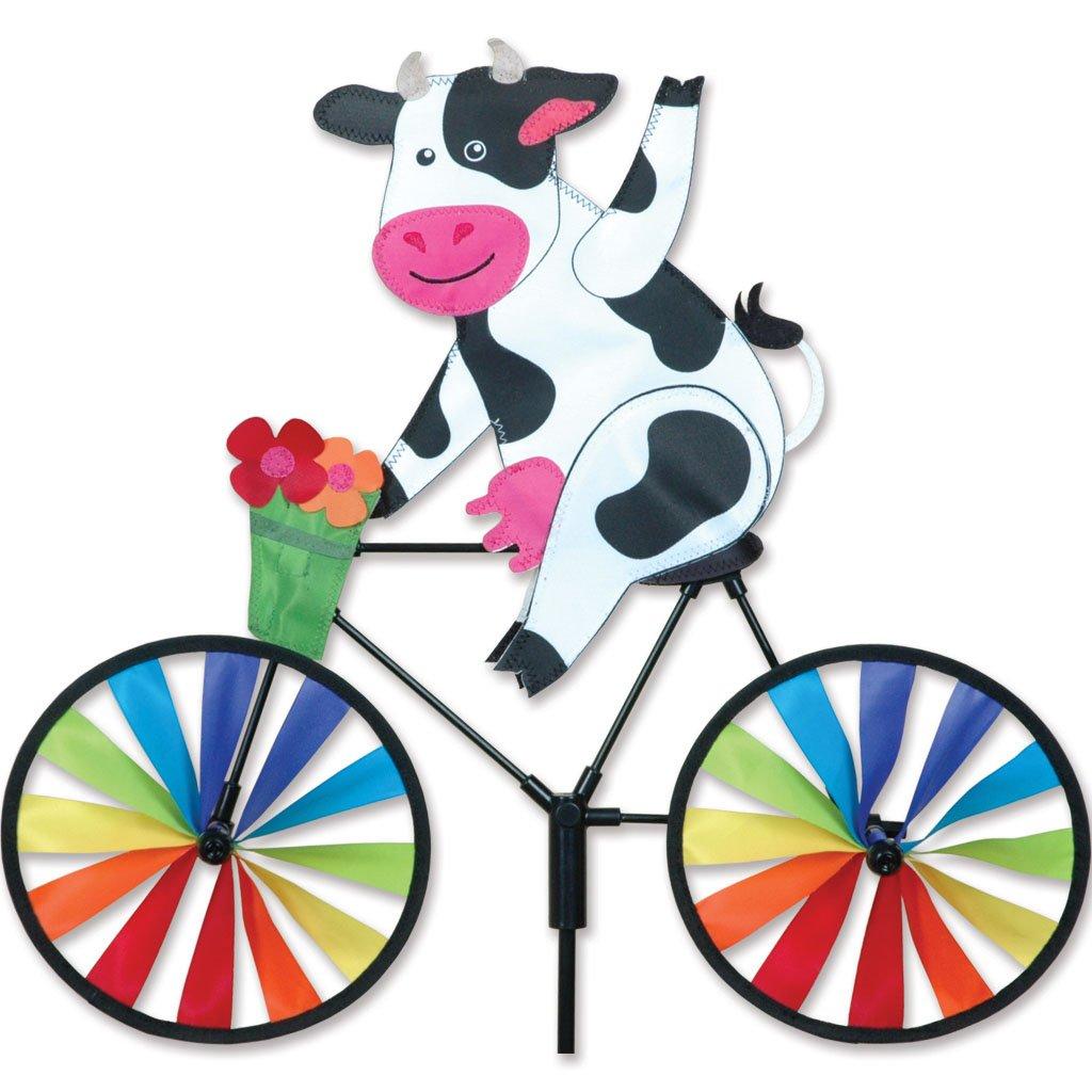 Premier Kites 20 in. Bike Spinner - Cow by Premier Kites
