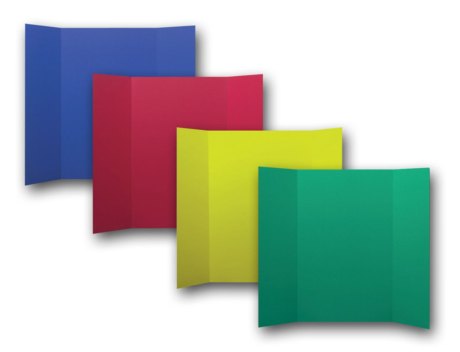 Flipside Products 30073 Project Display Board, Assorted Color (Pack of 24)