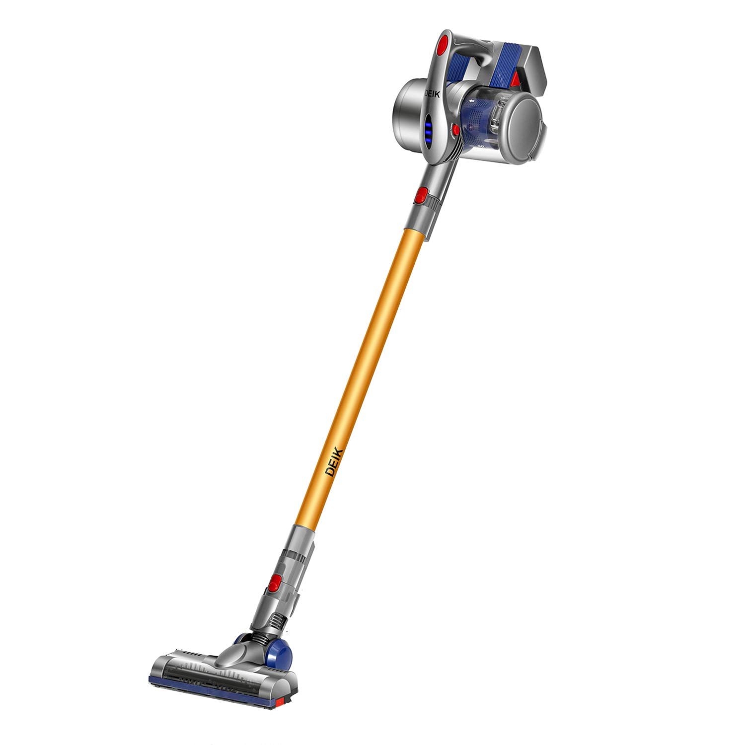 Deik 2 in 1 Cordless Vacuum with Wall-Mount VC1606