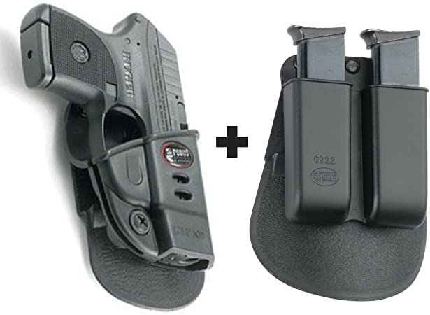 """RH SHOOTER Details about  /MAGAZINE POUCH FOR RUGER LCP II .22 Holster For Belts Up To 1.5/"""""""