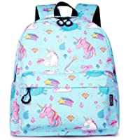 3D Unicorn Printed School Bag For Girls