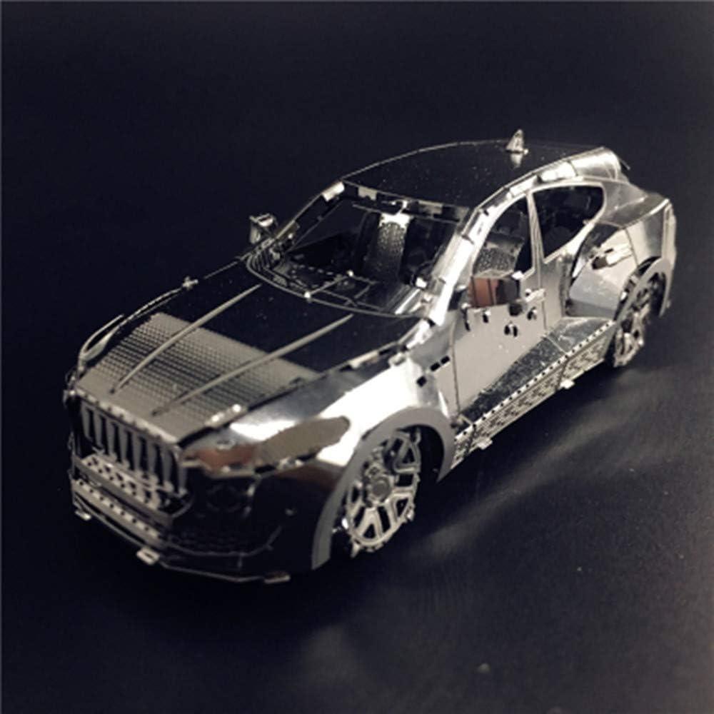 MQKZ Vehículo Todoterreno 3D Rompecabezas de Metal Modelo Juguete ...