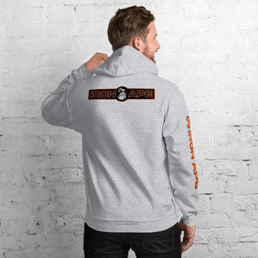 Champion Logo and Arm Text IRON APE Unisex Hoodie