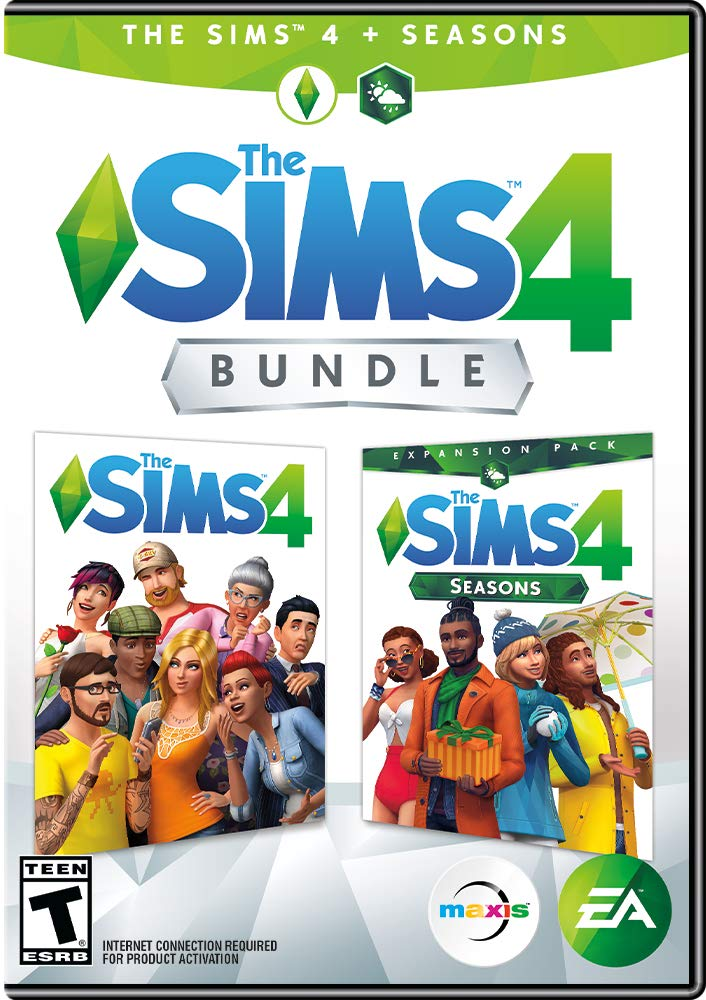 Sims 4 PLUS Seasons Bundle [Online Game Code] by Electronic Arts