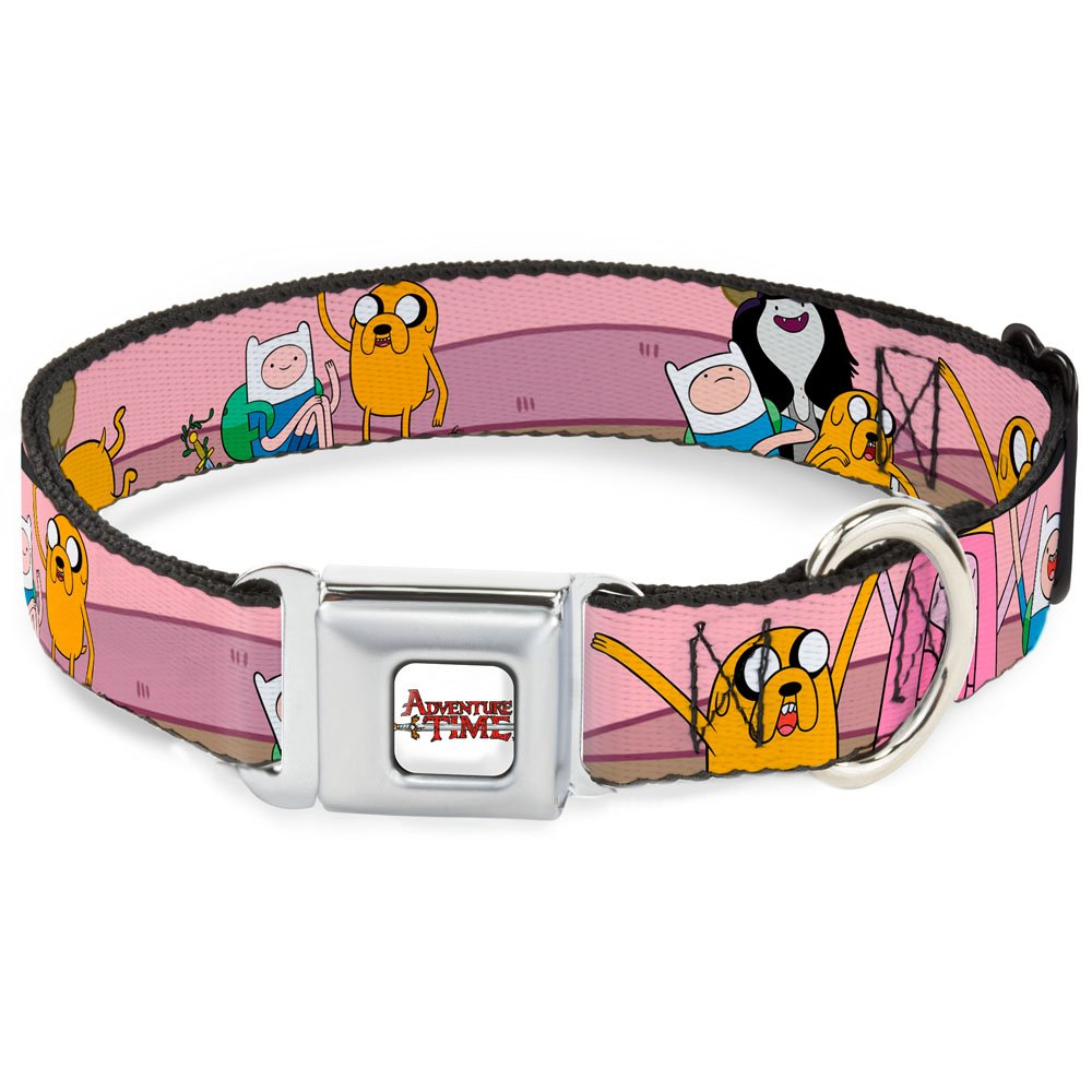 AT Adventure2 Purple 1.5\ AT Adventure2 Purple 1.5\ Buckle-Down Seatbelt Buckle Dog Collar at Adventure2 Purple 1.5  Wide Fits 13-18  Neck Small
