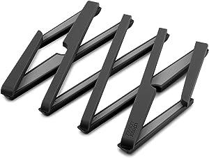 Joseph Joseph 70033 Stretch Expandable Silicone Trivet, Black