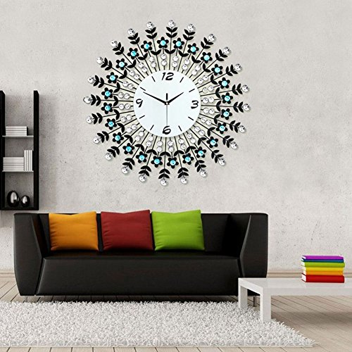 extra large wall clocks india vintage uk clock diamonds decorative white diameter contemporary