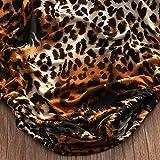GRNSHTS Baby Girls Leopard Print Buttons Ruffles