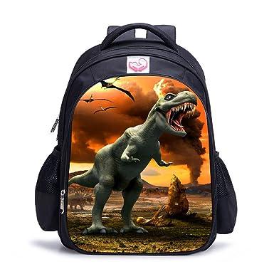 Amazon Com Dinosaur Backpack For Boys Cool Children Student