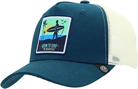 The Indian Face Gorra Surf Born to Surf Hombre y Mujer, Color Azul ...