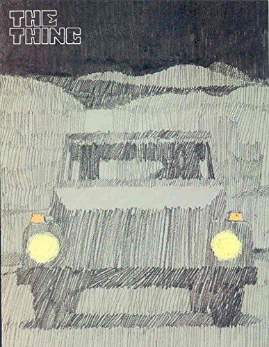 1974 Volkswagen Thing Sales Brochure