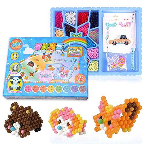Jouets Perles collantes de l'eau DIY Magic perles Puzzle Toy jouets éducatifs pour enfants pour les arts créatifs de l'enfant
