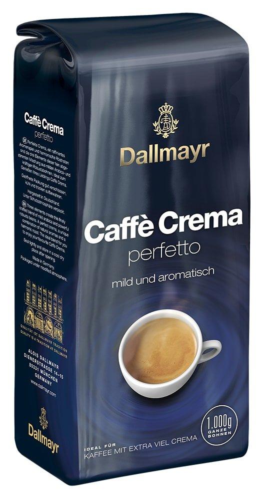 Dallmayr Kaffee Caffè Crema Perfetto Kaffeebohnen 1er Pack 1x 1 Kg