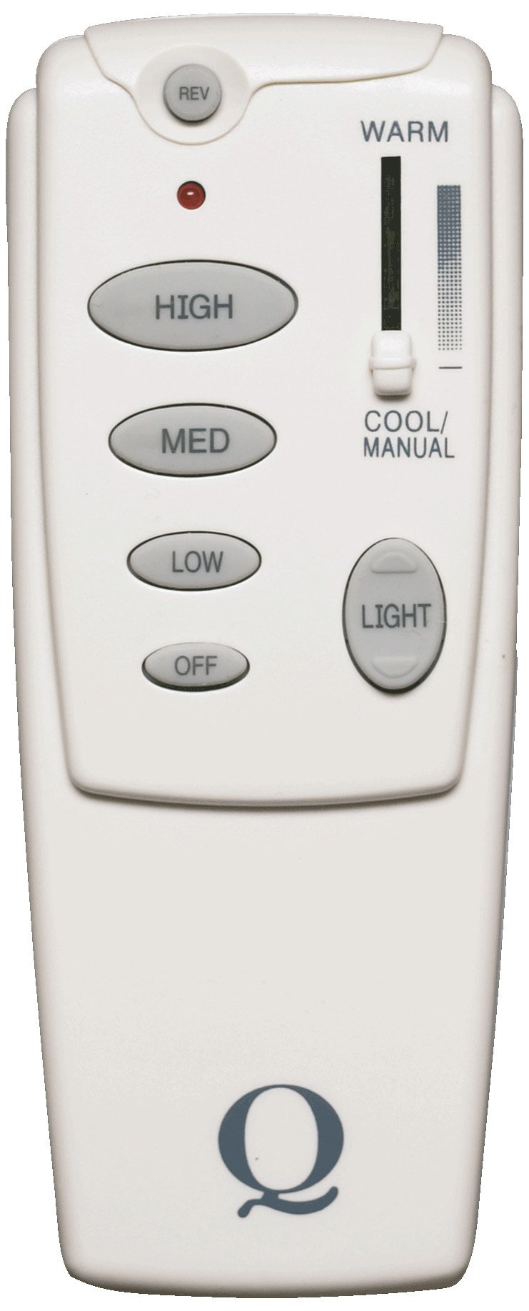 Quorum International 7-1401-0 Forward/Reverse Fan Remote Control, White by Quorum International