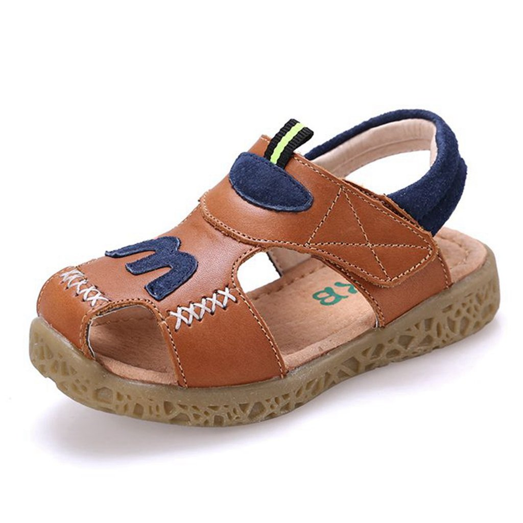 Boys Girls Sport Sandals Summer Athletic Closed-Toe Adjustable Strap Outdoor Kids Shoes