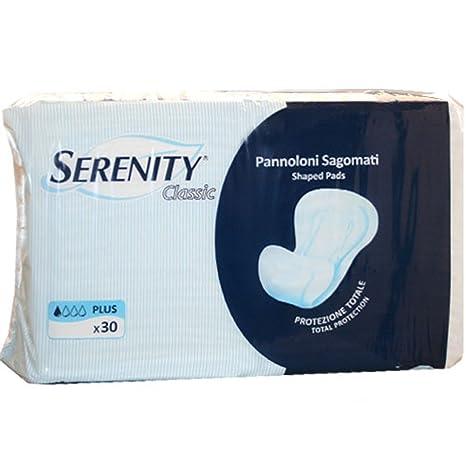 Serenidad Classic pañales en forma de Plus 30 Piezas