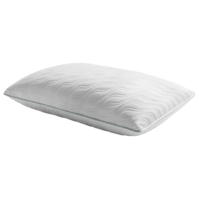 TEMPUR-ProForm ProMid Memory Foam Bed Pillow with Washable Cover, Queen