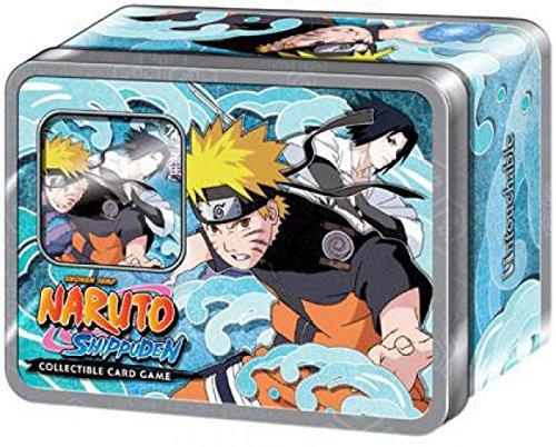 Naruto Cards Promo - Naruto Shippuden Card Game Fierce Ambitions Collector Tin Set Naruto Vs. Sasuke Includes Promo Card