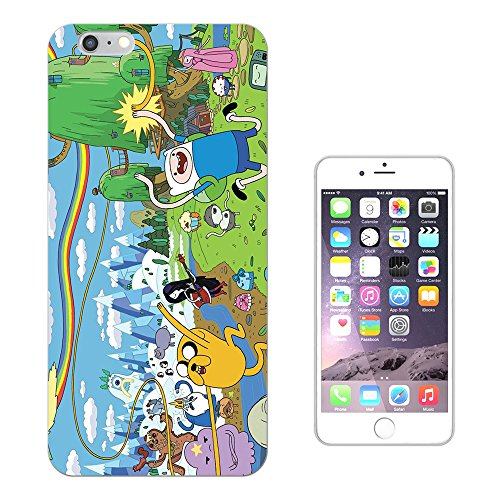 "451 - Funny Adventure Time Cartoon Design iphone 7 (4.7"") Fashion Trend Silikon Hülle Schutzhülle Schutzcase Gel Rubber Silicone Hülle"