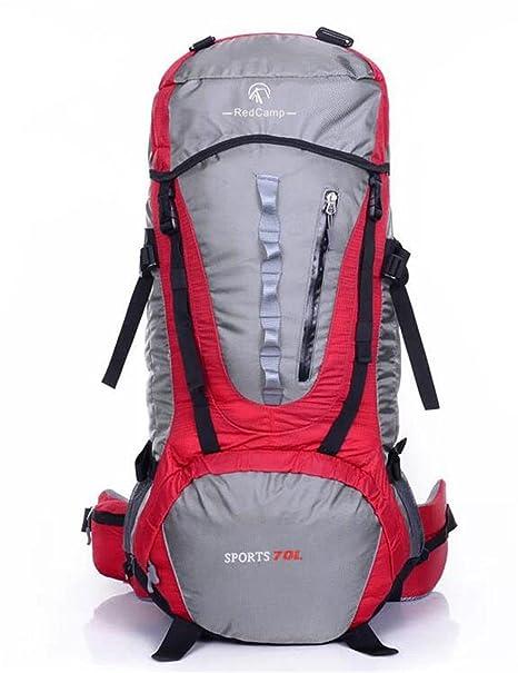 mochilas montaña De gran capacidad profesional bolsa de viaje de ida y escalada al aire libre ...