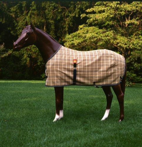 Original Baker Blanket - Baker Turnout Blanket - Original Tan Plaid