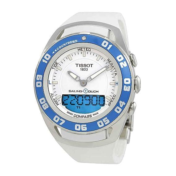 Tissot Reloj Analógico-Digital para Unisex Adultos de Cuarzo con Correa en Caucho T056.420.27.011.00: Tissot: Amazon.es: Relojes