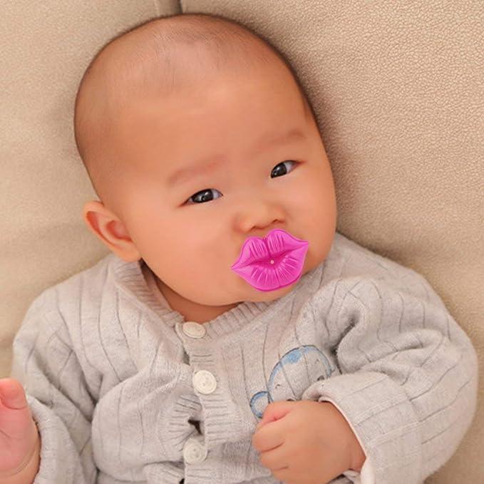 Beso estilo chupete niños pezón seguro pezón del bebé ...