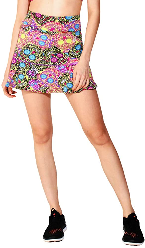 Dona Jo Official JoJo Skirt with deep Side Pockets for Storage and Made with Light 5-Way Stretch Material