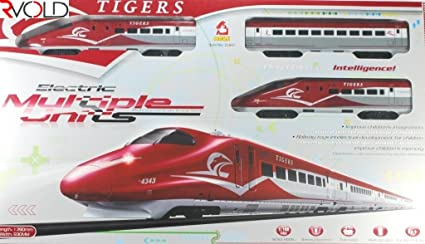 Rvold Tiger Metro Bullet Train Set