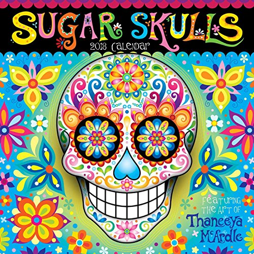 Sugar Skulls 2018 Wall Calendar cover